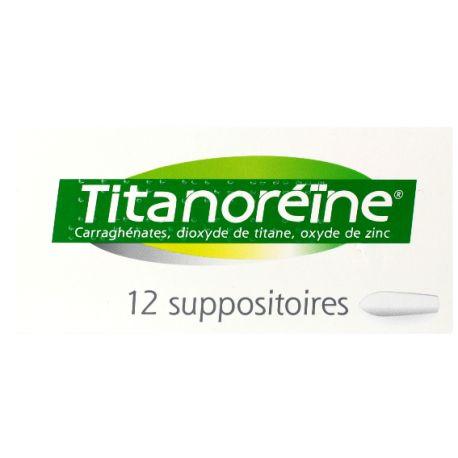 TITANOREINE SUPPOSITOIRES 12