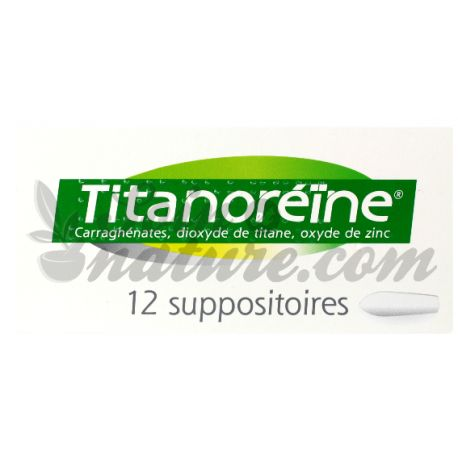 TITANOREINE SUPPOSITOIRES 12