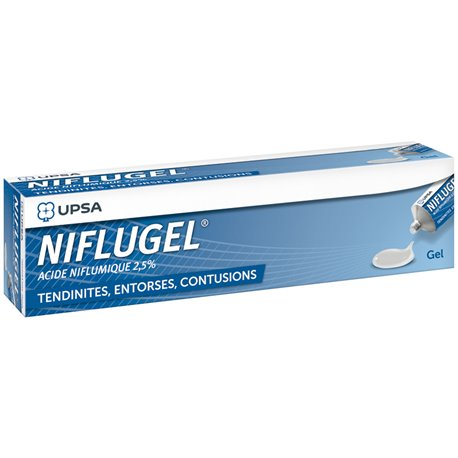 NIFLUGEL 2,5% GEL TUBE 60G