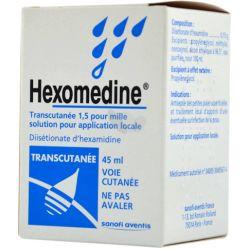 HEXOMEDINE TRANSCUTANEE FLACON 45ML