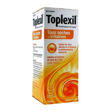 TOPLEXIL 0,33MG/ML SIROP 150ML