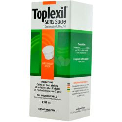 TOPLEXIL 0,33MG/ML SIROP S/S 150ML
