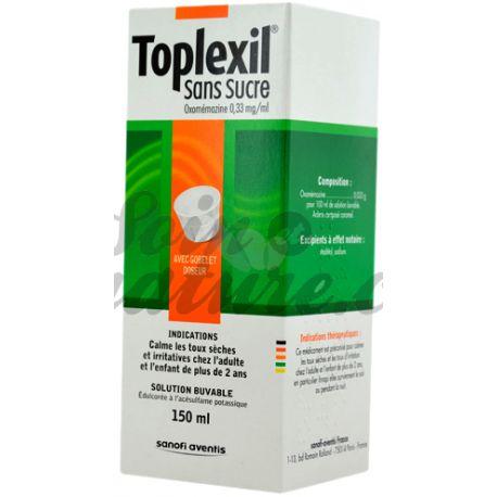 TOPLEXIL 0,33MG/ML SIROP S/S 150ML
