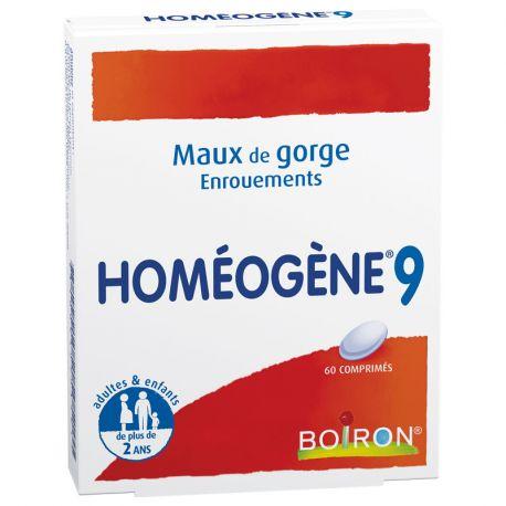 HOMEOGENE 9 60 CP HOMEOPATHIE BOIRON