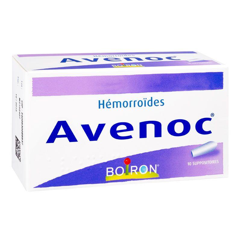 AVENOC SUPOSITORIO BT10 homéopathie Boiron Hemorroides