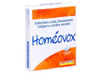 Composicion homeovox