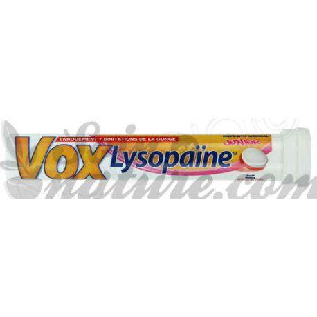 VOXLYSOPAINE FRAISE PASTILLES 18
