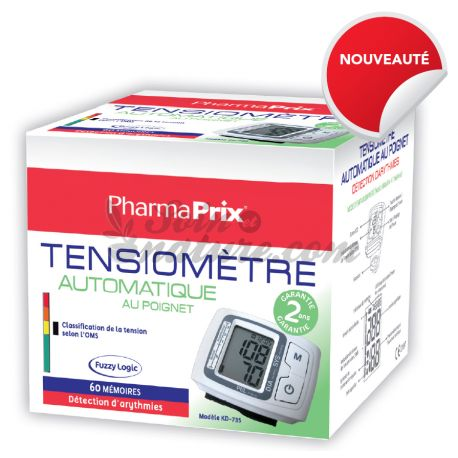 TENSIOMETRE AUTOMATIQUE POIGNET PHARMAPRIX