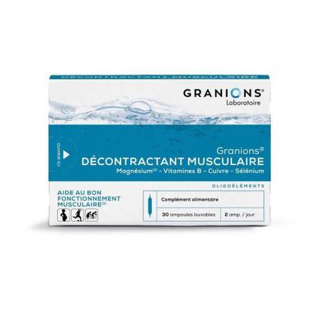 GRANIONS肌肉松弛剂30可饮用的安瓿