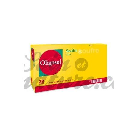 Oligosol الكبريت (S) 28 اللمبات المعادن والعناصر النادرة