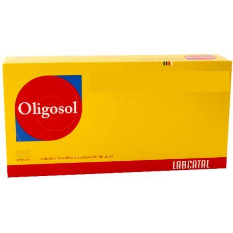 OLIGOSOL MN-CO AMP 2ML AMPOULES 28