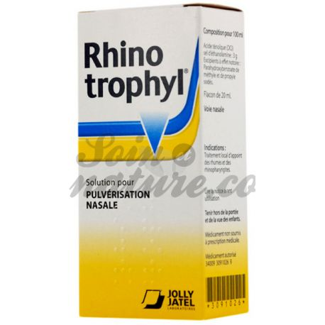 RHINOTROPHYL PULVERISATEUR NASAL 20ML