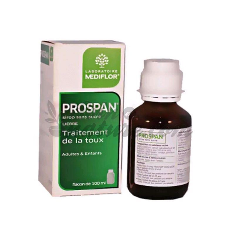 Prospan Cough Syrup Sugar Free Treatment 100ml Mediflor