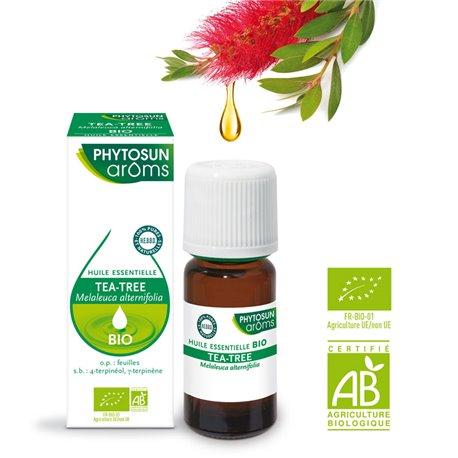 PHYTOSUN AROMS HUILE ESSENTIELLE BIO Tea-tree MELALEUCA ALTERNIFOLIA BIO 5 ml