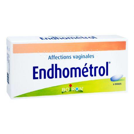 ENDHOMETROL OVULES Boite de 6 HOMEOPATHIE BOIRON