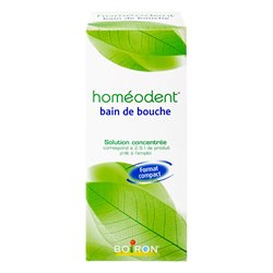HOMEODENT BAIN DE BOUCHE 125ML HOMEOPATHIE BOIRON