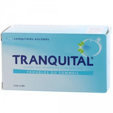 TRANQUITAL AUBEPINE VALERIANE TROUBLES DU SOMMEIL