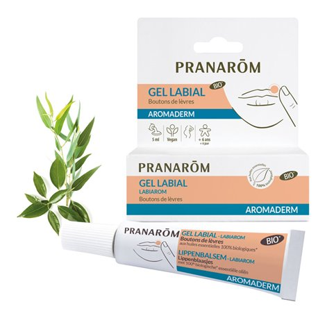 PRANAROM LABIAROM GEL TUBE 5ML