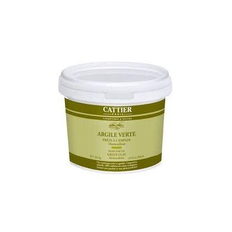 CATTIER argila verde PRONTO PARA USO 1,350 kg