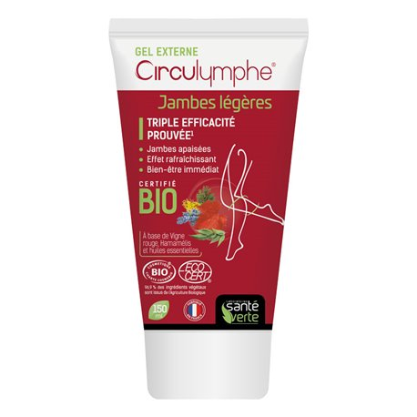 HEALTH GREEN GEL EXTERNAL CIRCULYMPHE 150ML