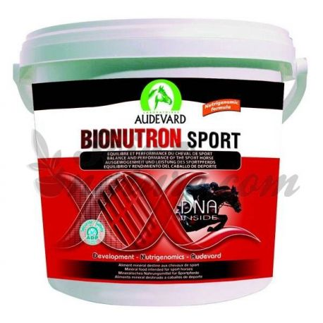 Audevard BIONUTRON SPORT BALDE DE COMBUSTÍVEL PARA CAVALOS 1,5 kg