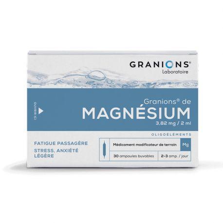GRANIONS MAGNESIUM AMPOULES BUVABLES 2ML 30