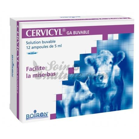 CERVICYL GA Boiron BOX oral de 12 lâmpadas de 5 ml