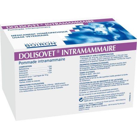 DOLISOVET intramammair Boiron BOX 20 NEEDLE 10 G