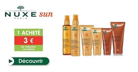 Nuxe Sun Promotion