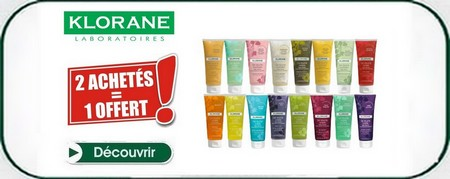 Promotion klorane shower gel