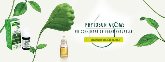 Óleos essenciais aroms Phytosun