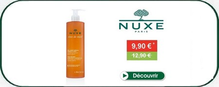 Washing gel surgras nuxe on promotion