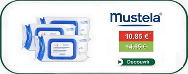 Promotion wipes mustela