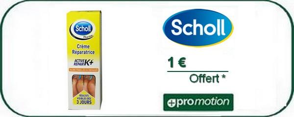 Promotie-Scholl-creme-voeten
