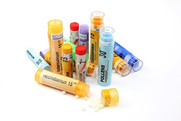 tubes granules and doses globules homeopathy