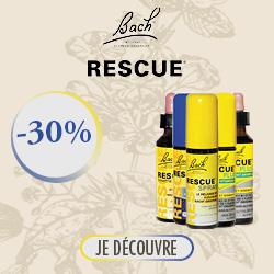 Promotion Fleur de Bach Rescue