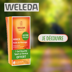 Promotion Weleda