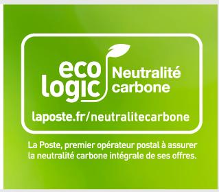 Information sur la quantité de dioxyde de carbone (CO₂) émise pour réaliser les prestations de transport et de livraison de vos colis avec La Poste Colissimo.