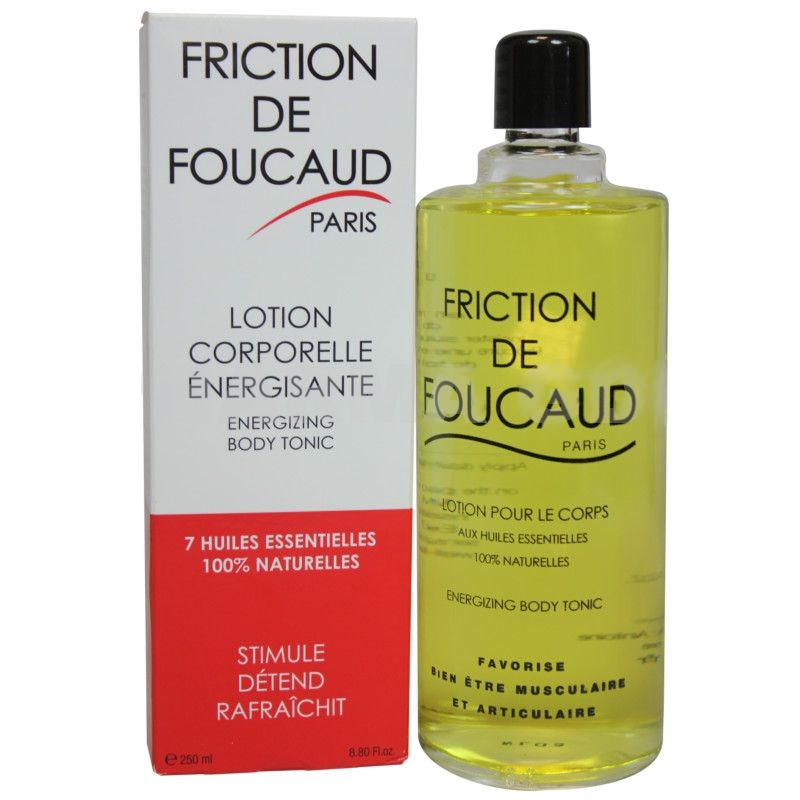 Foucaud Friction Lotion 250ml Coroporelle Energsiante