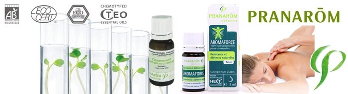 massage oil Pranarom