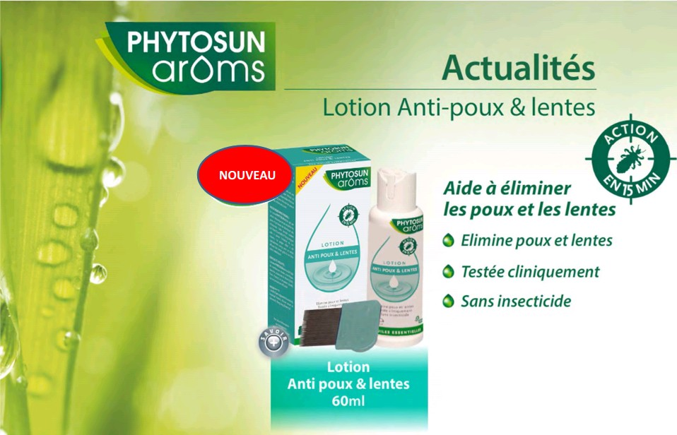 Phytosun Aroms Lotion Anti Poux Lentes 60 ML