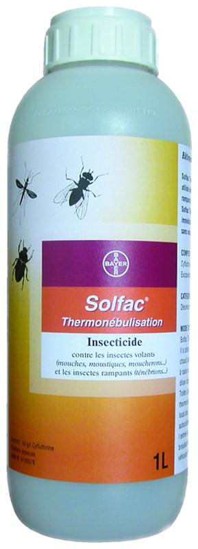 Solfac thermonebulisation bidon 1l bayer - Lutter contre les mouches ...