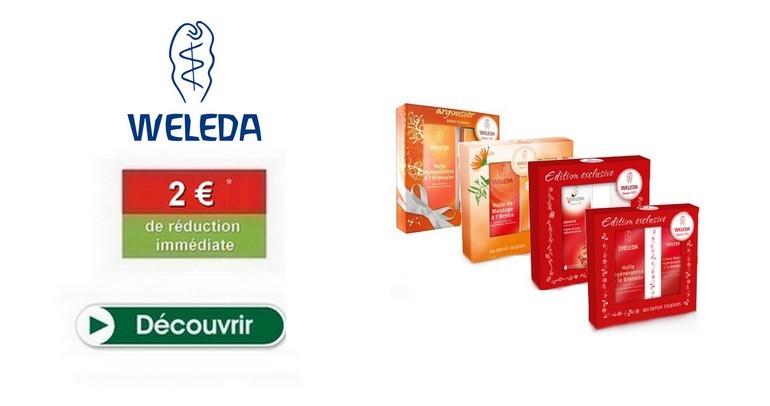 €2上Weleda的盒可用