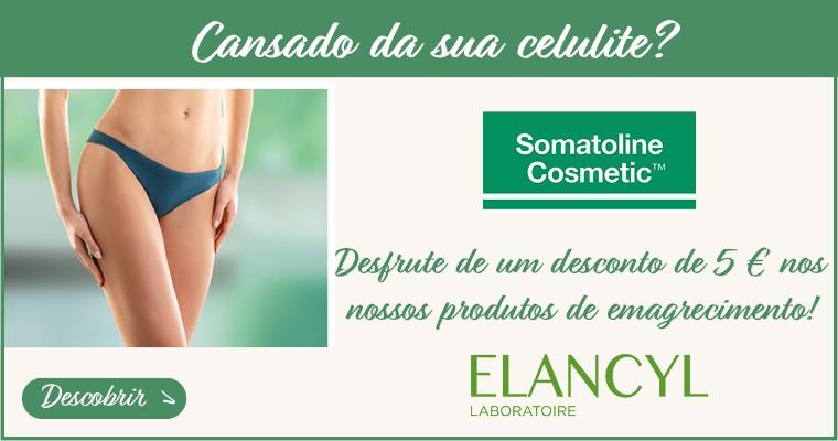 Cansado da sua celulite? Descubra a nossa selecção de emagrecimento com 5 € Oferecido em Somatoline e Elancyl