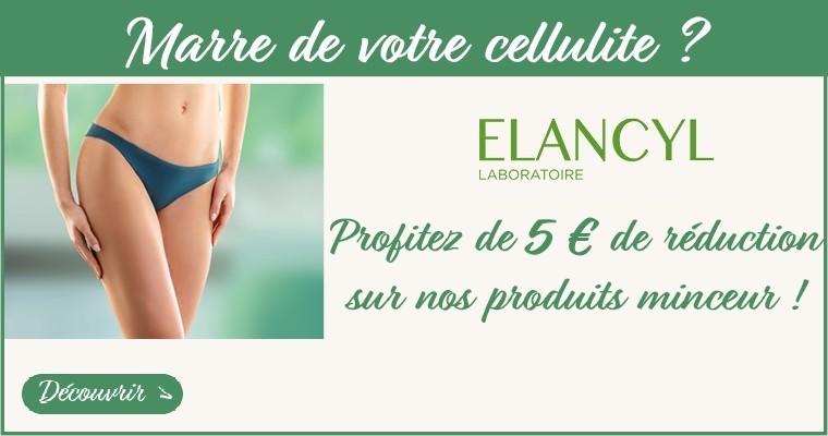 Marre de votre cellulite ? Découvrez notre sélection minceur avec 5 € Offerts sur Elancyl*
